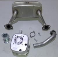 Schalldämpfer Zweizylinder