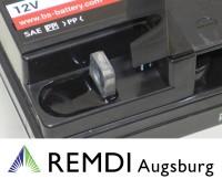 Starterbatterie E08542 (AGM) für AS-Motor Aufsitzmäher AS 800  12V 20AH