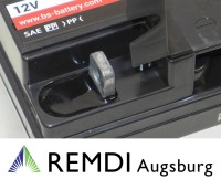 Starterbatterie (Blei-Gel) für Viking Rasentraktor 12V 20AH  Nr. 6116 007 1011