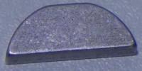 Halbmondkeil für Motorwelle Rasenmäher mit 25 mm Welle