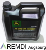 JOHN DEERE HY-Gard Low Viscosity Getriebeöl 5 Ltr....