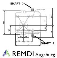 Peerless Getriebe 3 Vorwärts 1 Rückwärtsgang bis 15 PS 700074