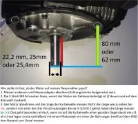 Rasenmäher Motor Honda ca 4,3 PS(HP) (früher 5,5 PS) GXV160 Welle 20/22,2/25,4/70