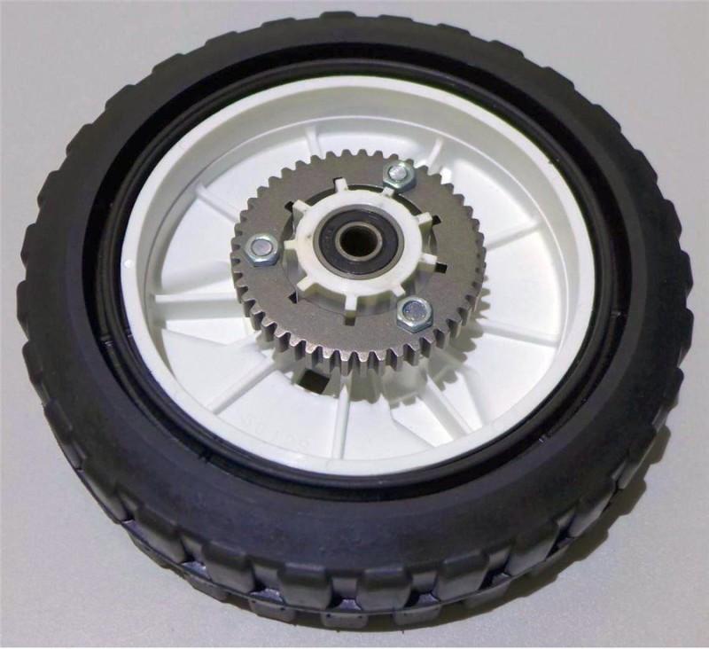 Rad für Harry Rasenmäher mit Zahnkranz Durchmesser 195 mm 401.19.900