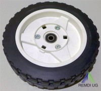 Rad für Harry Rasenmäher mit Zahnkranz Durchmesser 205 mm 423.19.900