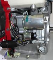 Honda Industrie Motor ca. 11 PS(HP) (früher 13 PS) GX390 Serie Welle 25,4/88 mm E-Start