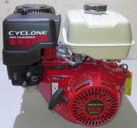 Honda Industrie Motor ca. 11 PS(HP) (früher 13 PS) GX390 Serie Welle 25/63 mm Cyclon