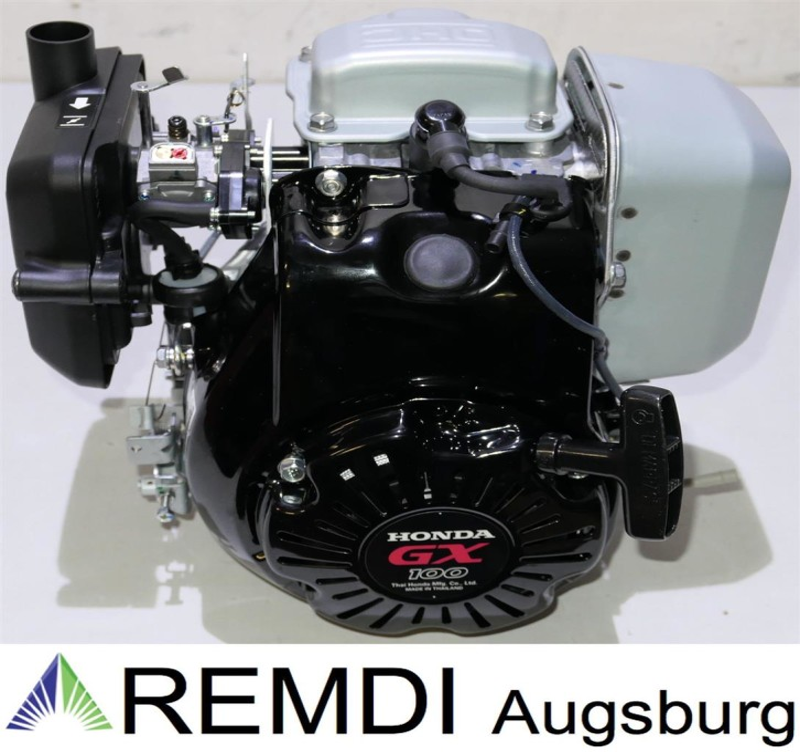 Honda Industrie Motor ca. 2,8 PS(HP) (früher 3,2 PS) GX100 KRGA Welle konisch