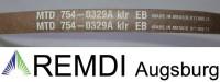 Original Ventzky MTD Keilriemen 754-0329A