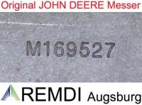 Original JOHN DEERE Messer-Satz AM145568 für X950R 137 cm Bohrung 20,5 mm