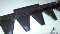 ESM Mähmesser Ersatzmesser Balkenmäher SC-Ausführung 102 cm 249 1210
