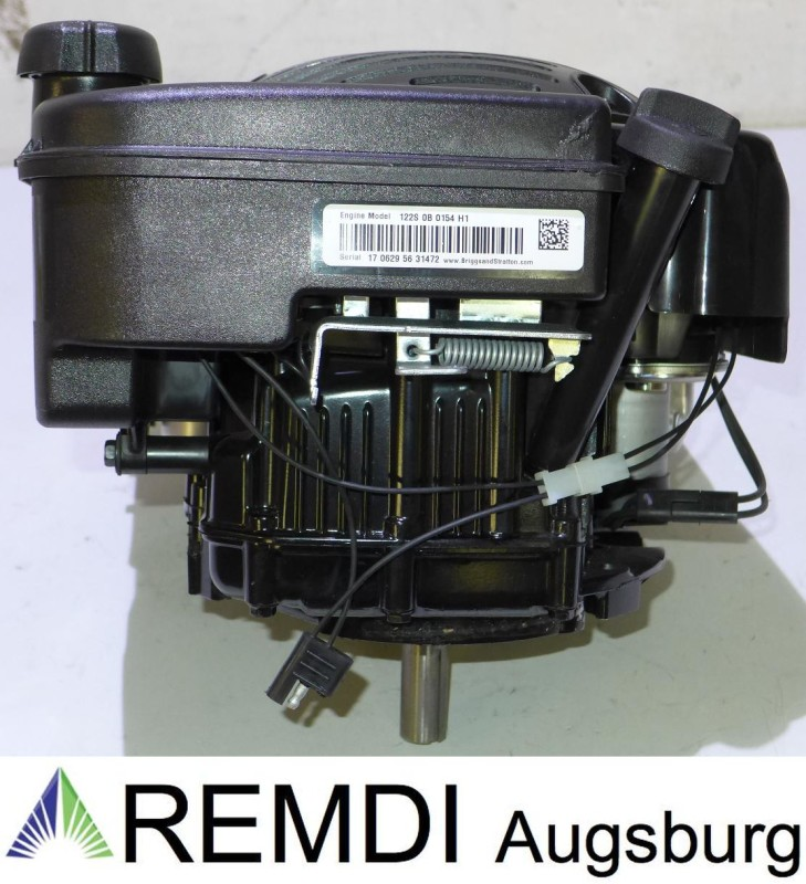Rasenmäher Motor Briggs & Stratton ca 6,5 HP 875IS E-Start Welle 22/80