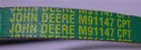 Original JOHN DEERE Keilriemen M91147 passend für 185, 180