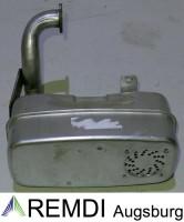 Auspuff / Schalldämpfer für Briggs & Stratton 1-Zylinder Unterfluhr RT501002