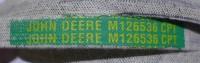 Original JOHN DEERE Keilriemen M126536, LT155, LT160, LT166, LT180