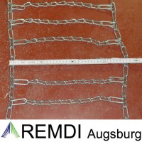 Schneeketten 20x9.00-10 (20 x 9.00 - 10) Profi Ausführung Gliederstärke 4,5mm