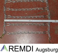 Schneeketten 18x9.50-8 (18 x 9.50 - 8) Profi Ausführung Gliederstärke 4,5mm