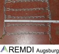 Schneeketten 19x9.50-8 (19 x 9.50 - 8) Profi Ausführung Gliederstärke 4,5mm