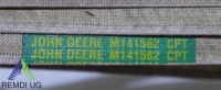 Original JOHN DEERE Keilriemen M141562, LTR180, LTR166, LTR155