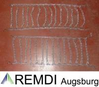 Schneeketten 18x8.50-8 (18 x 8.50 - 8) Profi Ausführung Gliederstärke 4,5mm