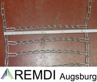 Schneeketten 26x12.00-12 (26 x 12.00 - 12) Profi Ausführung Gliederstärke 4,5mm