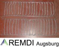 Schneeketten 23x10.50-12 (23 x 10.50 - 12) Profi Ausführung Gliederstärke 4,5mm