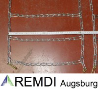 Schneeketten 22.5x12.00-9 (22.5 x 12.00 - 9) Profi Ausführung Gliederstärke 4,5mm