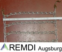 Schneeketten 20x10.50-12 (20 x 10.50 - 12) Profi Ausführung Gliederstärke 4,5mm