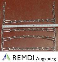 Schneeketten 20x7.00-12 (20 x 7.00 - 12)Profi Ausführung Gliederstärke 4,5mm