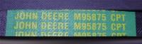 Original JOHN DEERE Keilriemen M95875