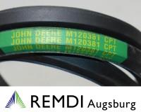 Original JOHN DEERE Keilriemen M120381, 455, 415