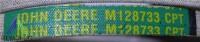 Original JOHN DEERE Keilriemen M128733, LT155, LT160, LT166, LT180