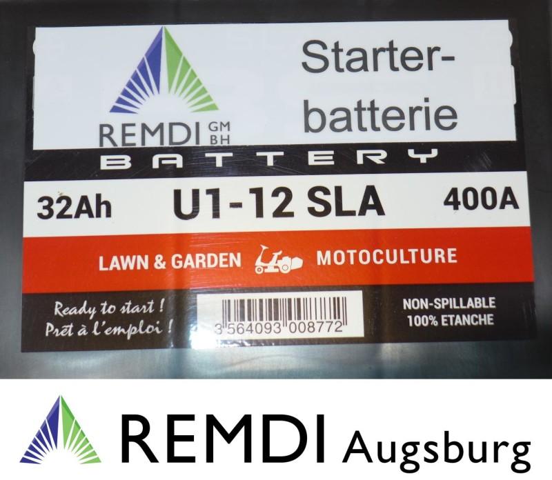 Batterie de démarrage pour Tracteur-tondeuse John Deere lr175 12 V Plomb Gel AGM akkumulator