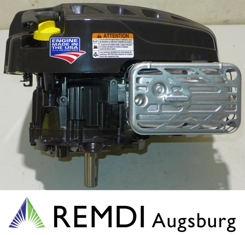 Rasenmäher Motor Briggs & Stratton ca. 6,5 PS(HP) 875EXi Serie Welle 25/80
