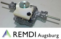Original CASTELGARDEN  / Tuff Torq Getriebe 118400960/0
