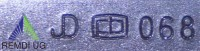 Original JOHN DEERE Standard Messer-Satz 122 cm Seitenauswurf M145476