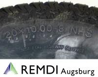 Reifen 20x10.00-8 NHS Rasenprofil