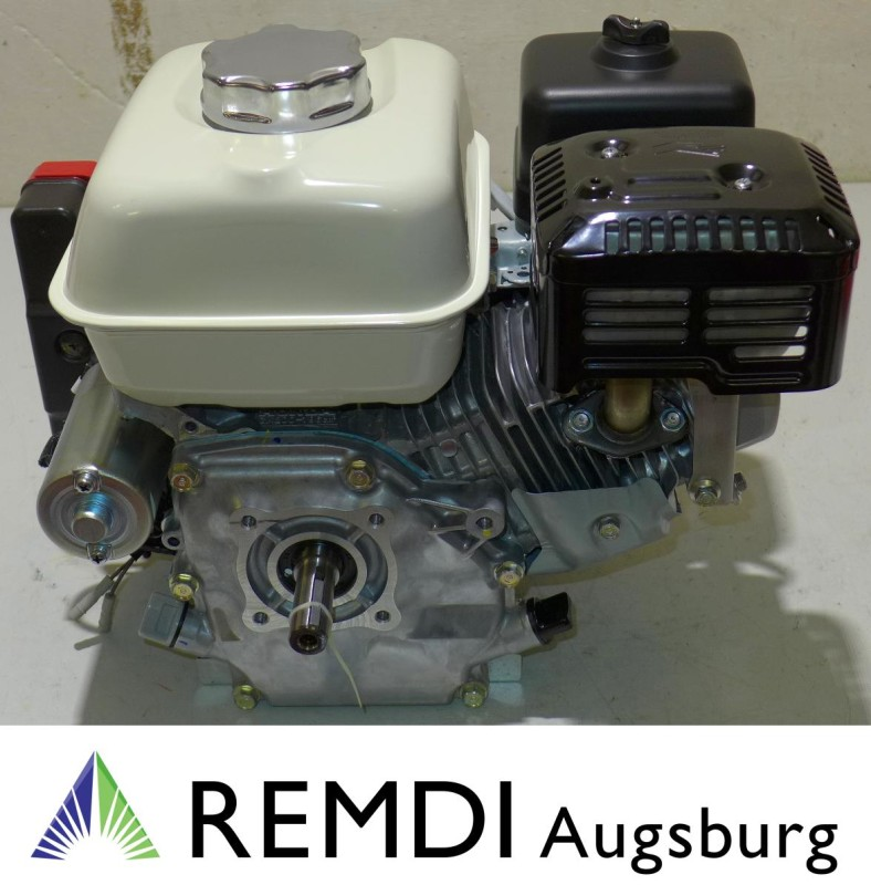 Honda Industrie Motor ca. 5,5 HP (früher 6,5 PS) GX200 Welle 20/53 E-Start