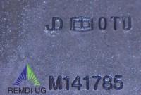 Original JOHN DEERE Messer-Satz Seitenauswurf 153 cm M141785, 455, 415