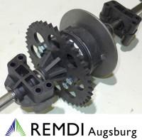 Original CASTELGARDEN Differential mit Bremsscheibe 118400971/1 für EL63