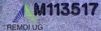 Original JOHN DEERE Mulch Messer-Satz 122 cm Seitenauswurf M113517