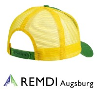 JOHN DEERE Mesh-Kappe gelb grün, Cap, Mütze