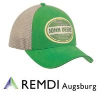 "JOHN DEERE Mesh-Kappe ""Quality Equipment"", grün, Cap, Mütze"
