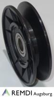 Spannrolle Umlenkrolle 12,7 mm / 77 mm RT601019
