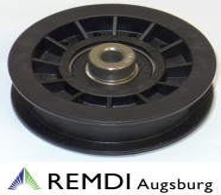 Rückenrolle Spannrolle Umlenkrolle 9,9 mm / 76 mm RT602024
