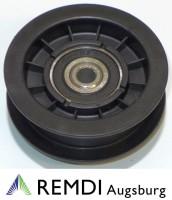 Rückenrolle Spannrolle Umlenkrolle 10 mm / 70 mm RT602027