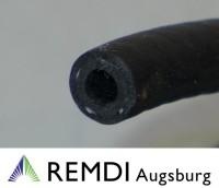 Gummi - Benzinschlauch mit Gewebeeinlage 6,35 mm 1 cm