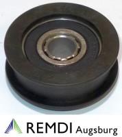 Rückenrolle Spannrolle Umlenkrolle 12,7 mm / 47 mm RT602034