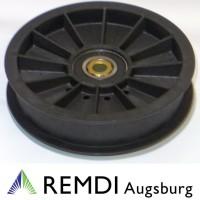 Rückenrolle Spannrolle Umlenkrolle 9,5 mm / 114 mm RT602052