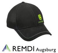 JOHN DEERE Mesh-Kappe schwarz, Cap, Mütze